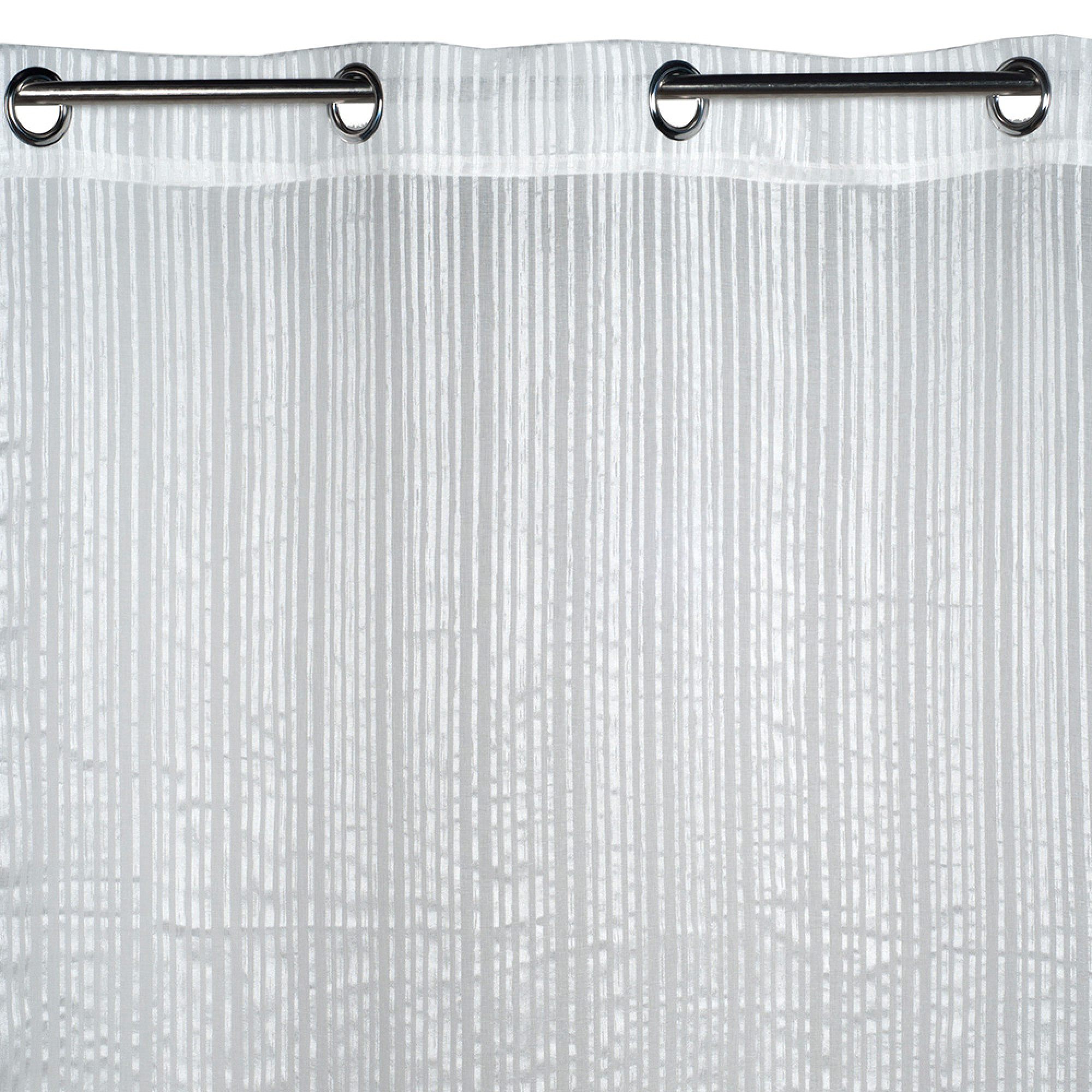 Sheer Curtain With Grommets Corfou