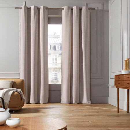 Curtain with grommets Allyx natural