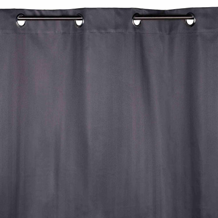 Blackout curtain with grommets Derby grey