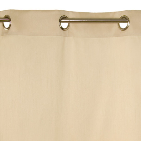 Curtain with grommets Silka natural
