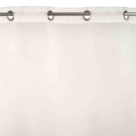 Sheer curtain with grommets Brume natural