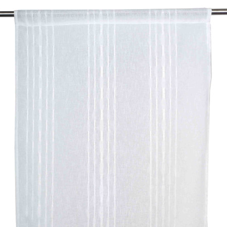 Sheer curtain Mykonos white