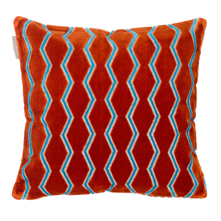 Pillow cover Amharic blue