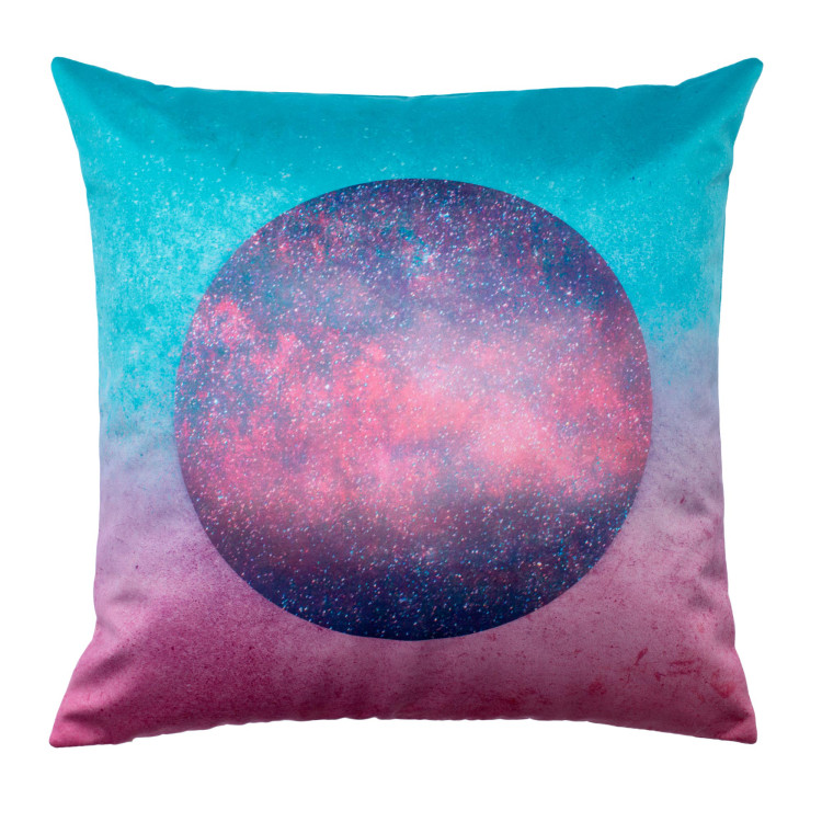 Pillow cover Glitters pink