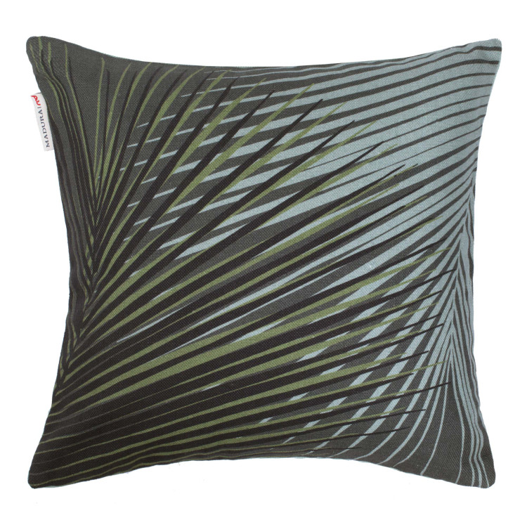 Pillow cover Hanoï green