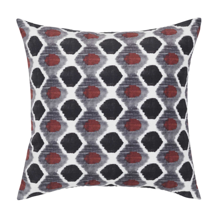Pillow cover Losange white