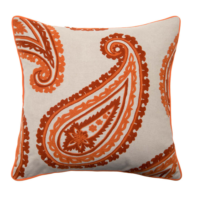 Pillow cover Mangoes orange