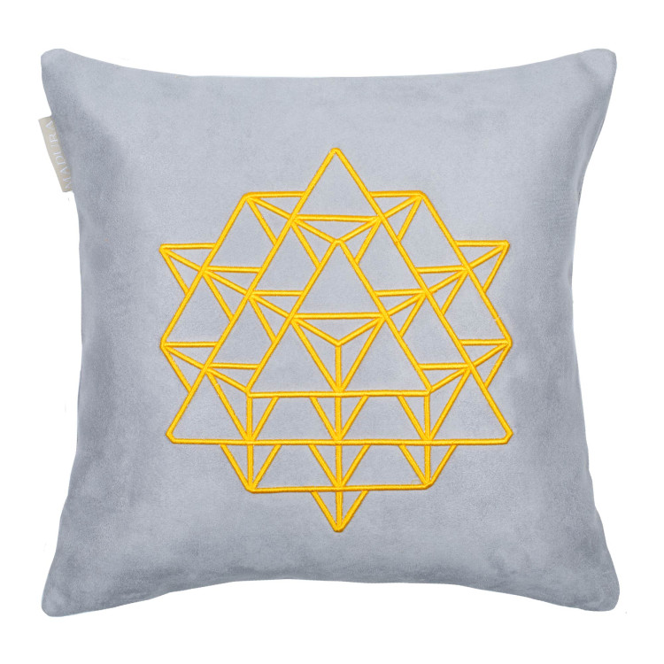 Pillow cover Sixtyfour grey