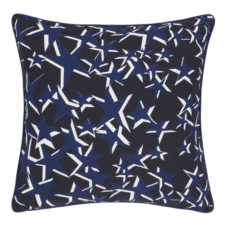 Pillow cover Stars blue