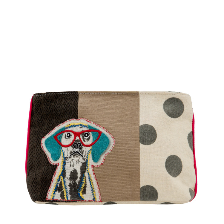 Clutch Wise dog multicolor