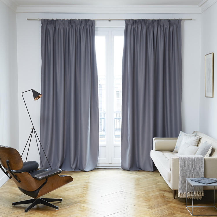 Blackout curtain Night grey
