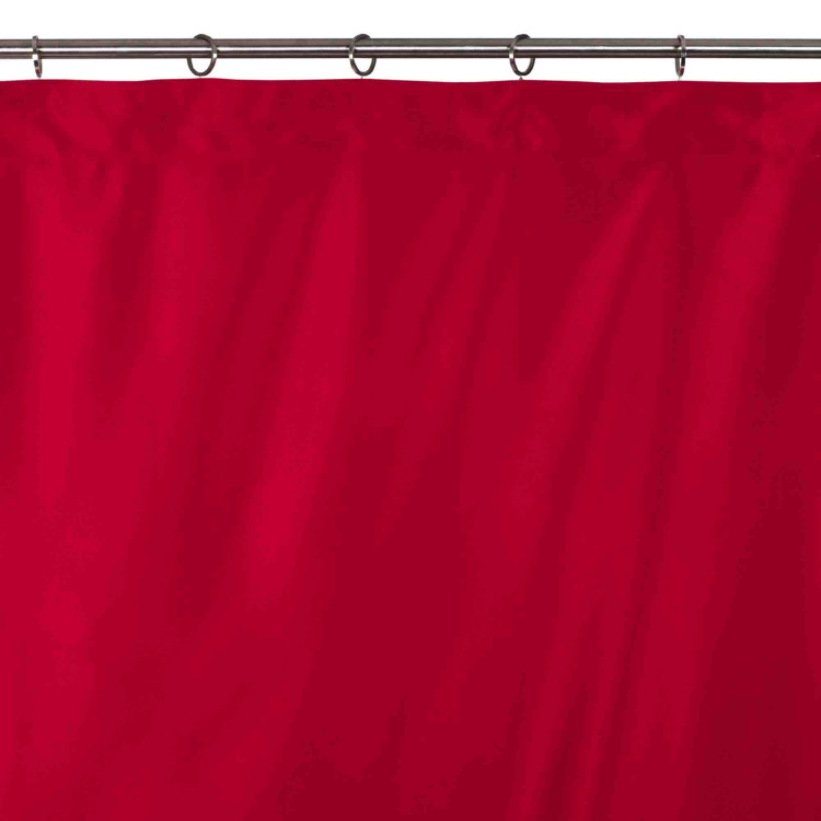 Blackout curtain Night red