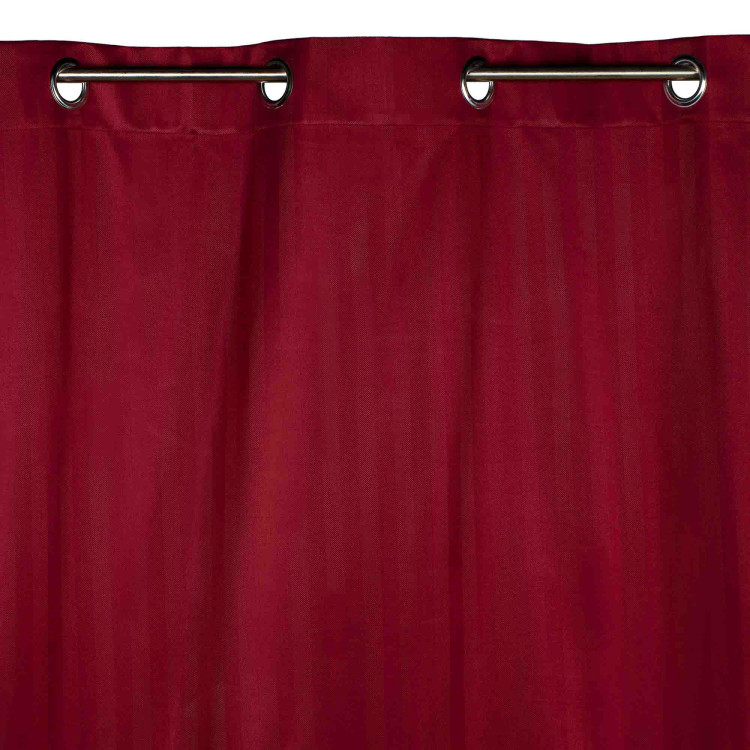 Blackout curtain with grommets Derby red