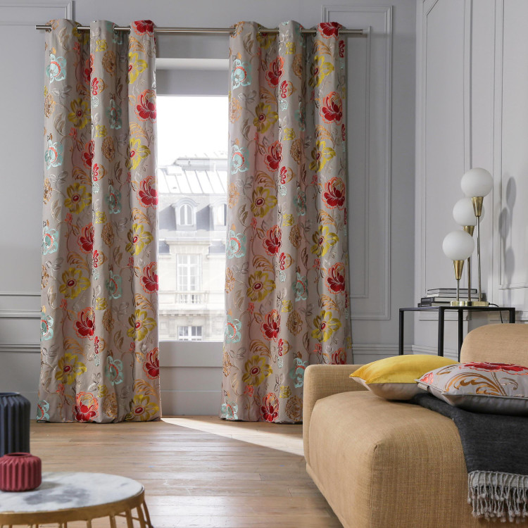 Curtain with grommets Magellan natural