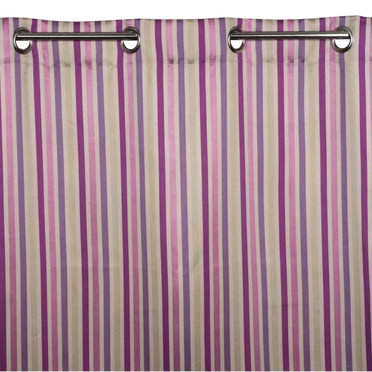 Curtain with grommets Berlingot pink