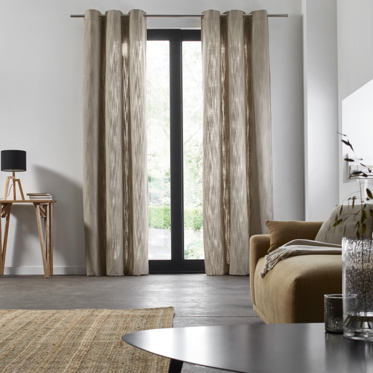 Curtain with grommets Harmony beige