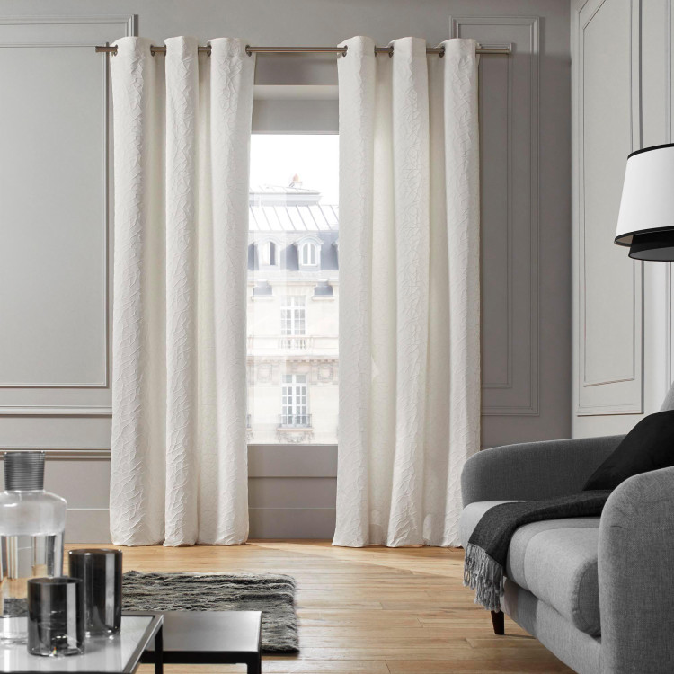 Curtain with grommets Salina natural