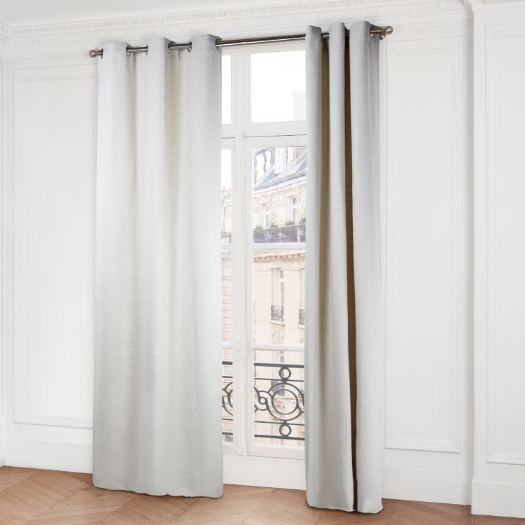 Curtain with grommets Sidney natural