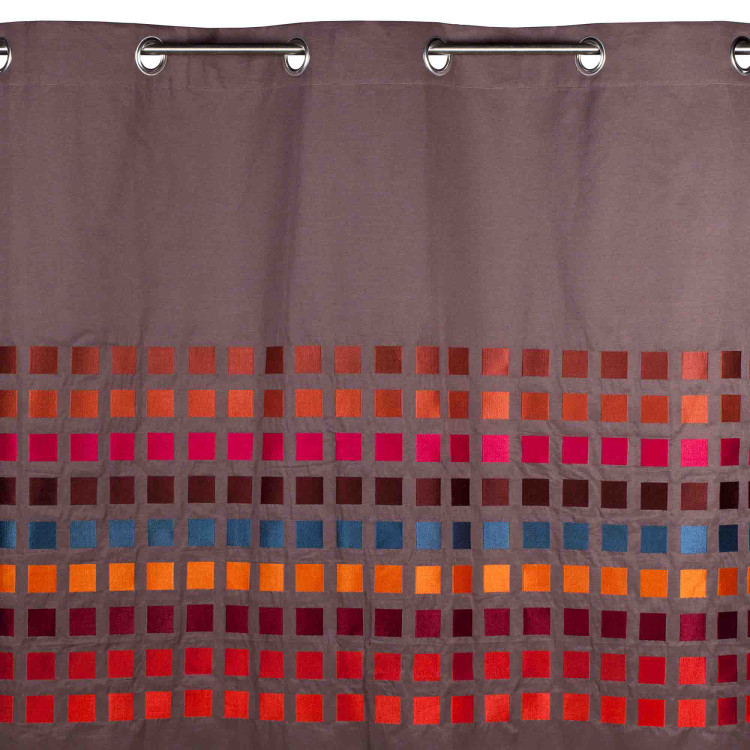 Curtain With Grommets Square Natural Madura
