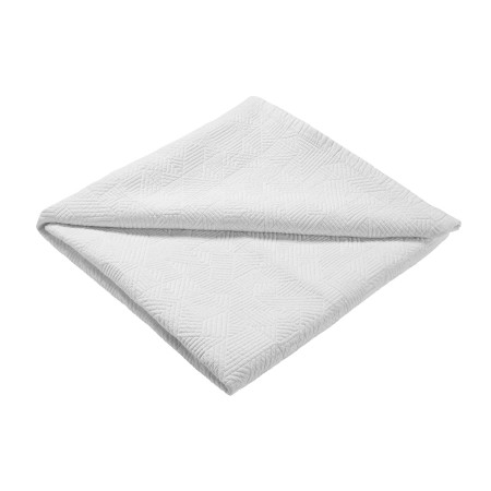 Quilted bedspread Theoreme white