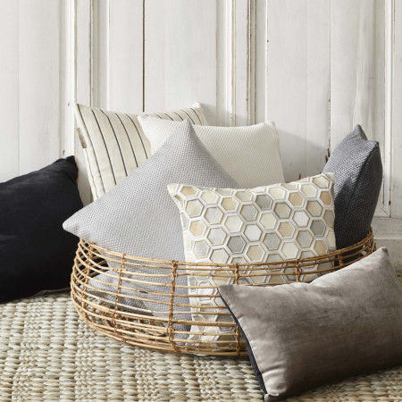 Pillow cover Coconut grey