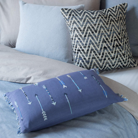 Pillow cover Idaho blue
