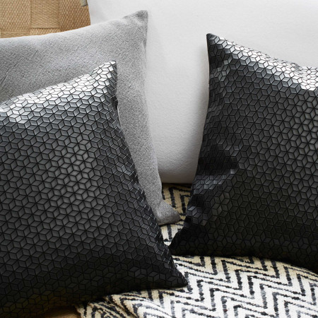 Pillow cover Meteor black