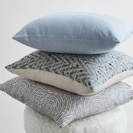 Pillow cover Shandar blue