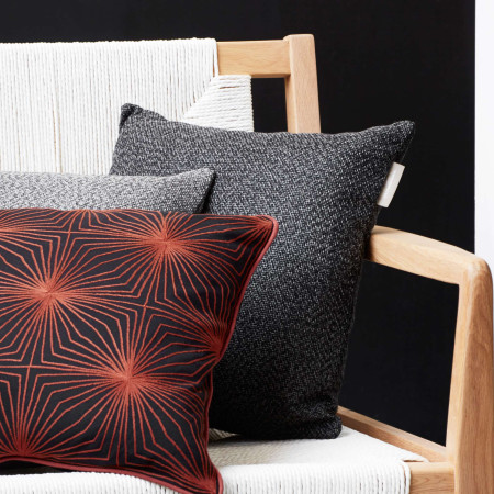 Pillow cover Twist black