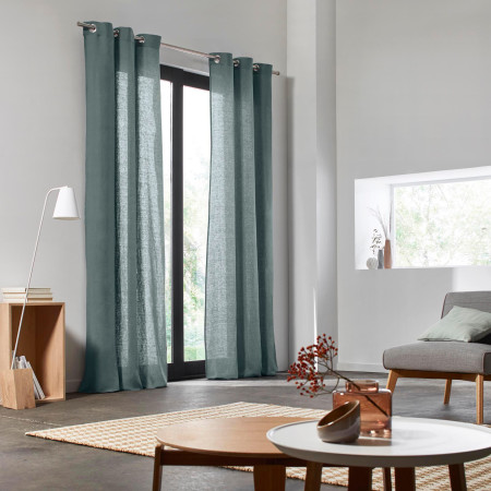 Curtain Carlina green