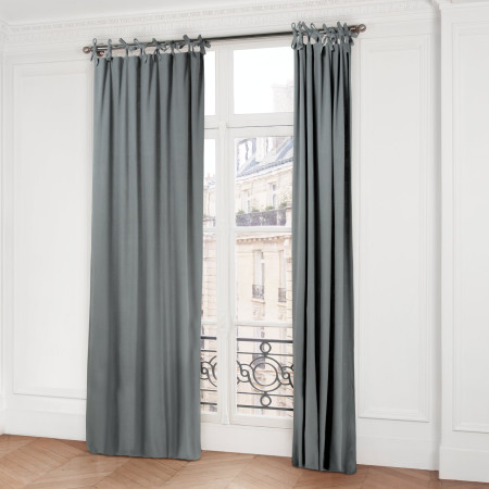 Curtain Amish grey