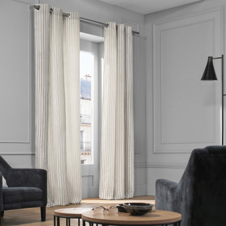 Curtain Barthelemy natural