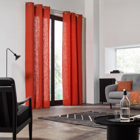 Curtain Bellevue orange