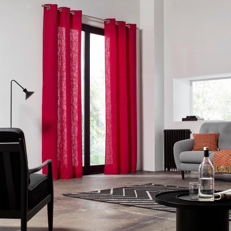 Curtain Bellevue pink