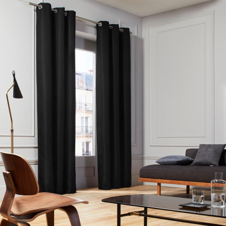 Curtain Coconut black