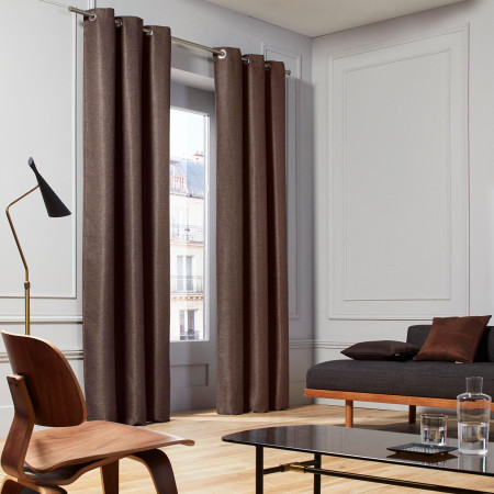 Curtain Coconut brown