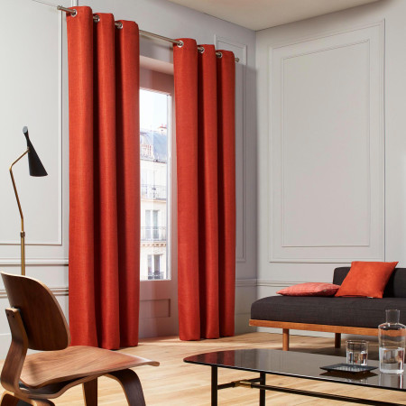 Curtain Coconut orange