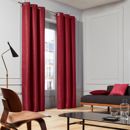 Curtain Coconut burgundy