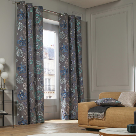 Curtain Magellan blue