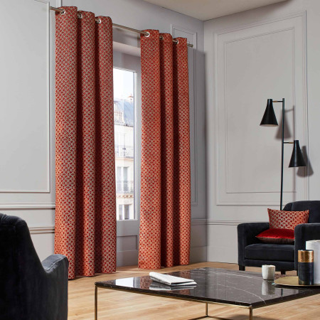 Curtain Oscar orange