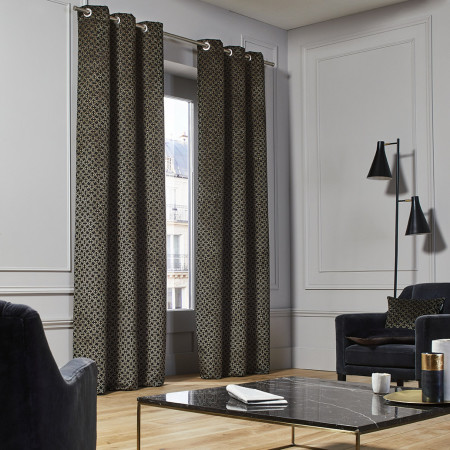 Curtain Oscar black