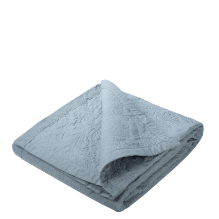 Quilted bedspread Elise grey