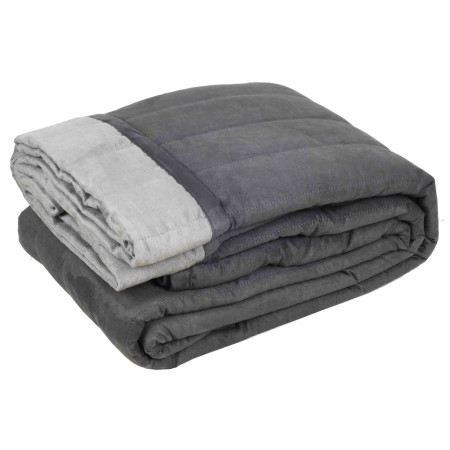 Quilted bedspread Montana grey
