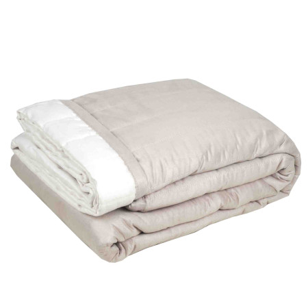 Quilted bedspread Montana natural