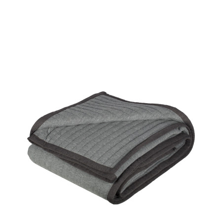 Quilted bedspread Team grey
