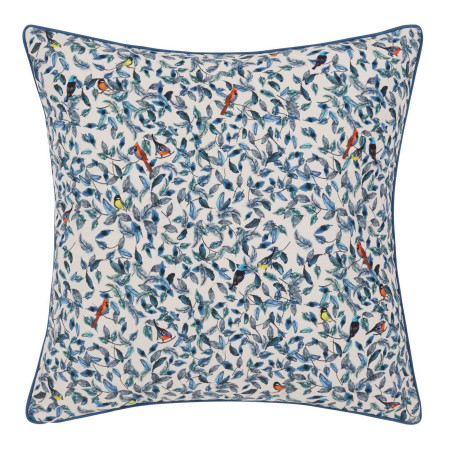 Pillow cover Adelaïde blue