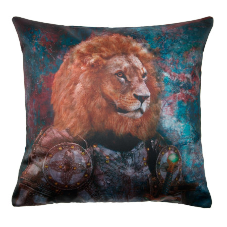 Pillow cover Antique lion multicolor