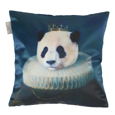 Pillow cover Antique panda multicolor