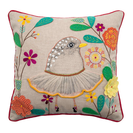 Pillow cover Ballerina multicolor