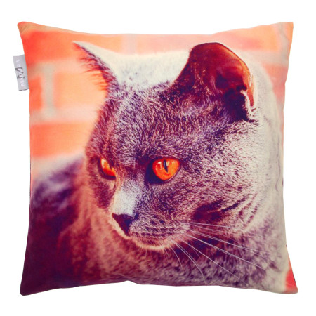 Pillow cover Barnie 3 grey